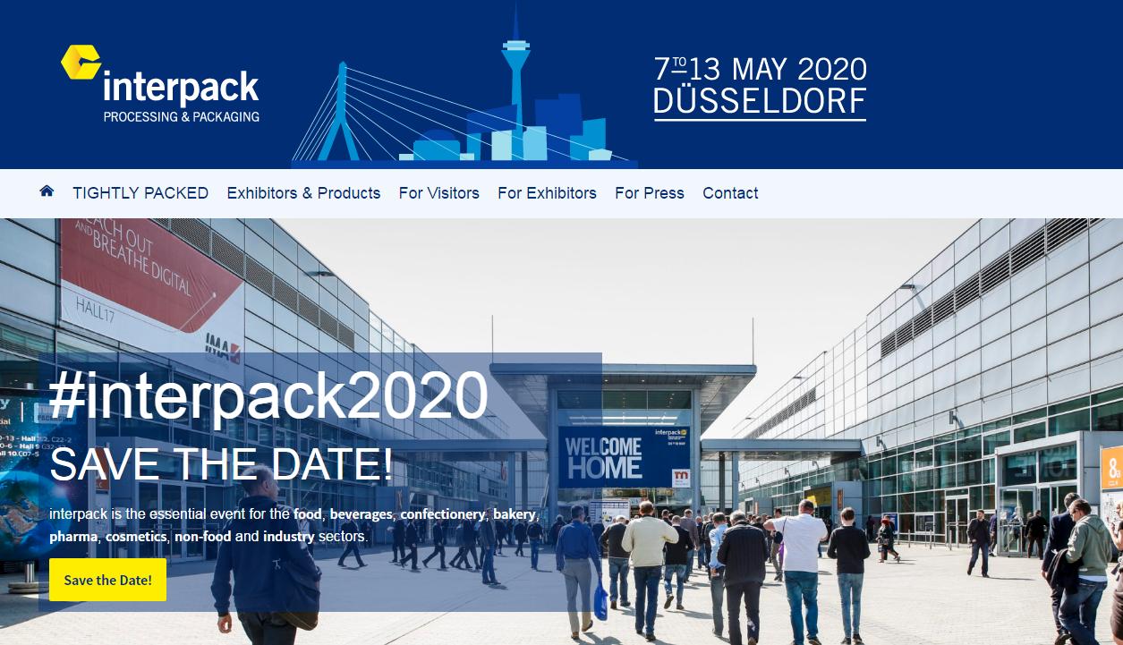 Německo Interpack 2020 Výstava
